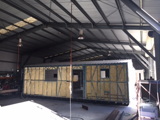 Fully insulated portable building